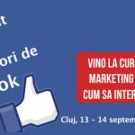 Pe 13-14 septembrie sunt la Laboratorul de Online Cluj Napoca