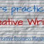 De ce un nou curs? De ce creative writing?